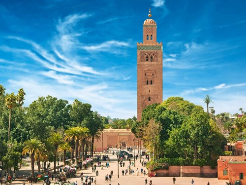 Marrakesh Square Morocco