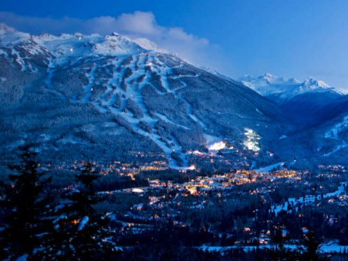 Whistler Village, Whistler in Canada