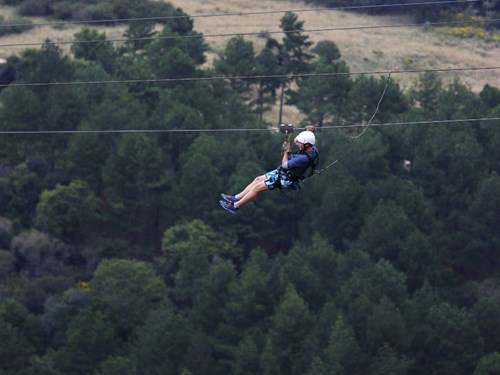 Ziplining in South Africa