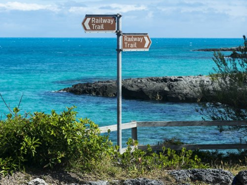 The Railway Trail in Bermuda