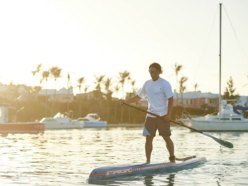SUP Paddleboarding in Bermuda