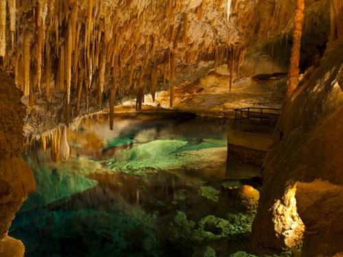 Crystal Caves in Bermuda