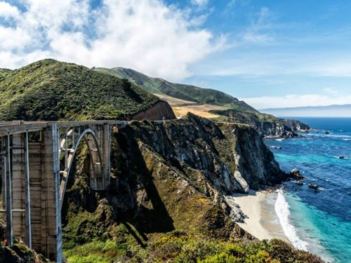 Drive the Big Sur in California, USA