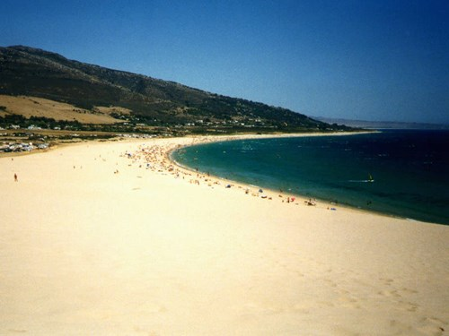 Tarifa beach in Spain