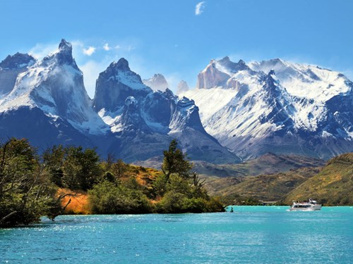 Torres del Paine National Park in Patagonia, Chile