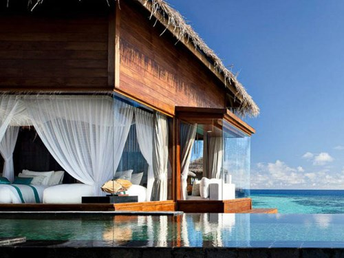 Jumeirah Dhevanafushi in the Maldives