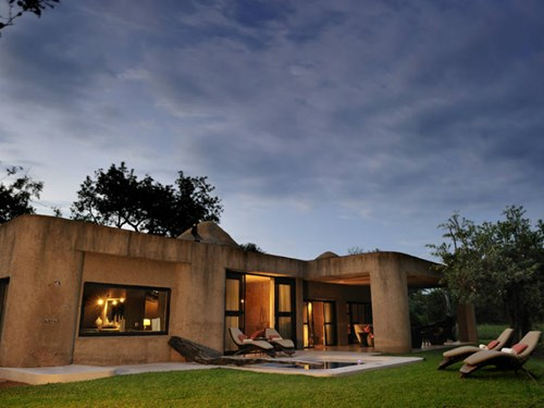 Sabi Sabi Earth Lodge in South Africa