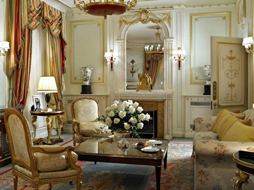 Trafalgar Suite at The Ritz London, London UK