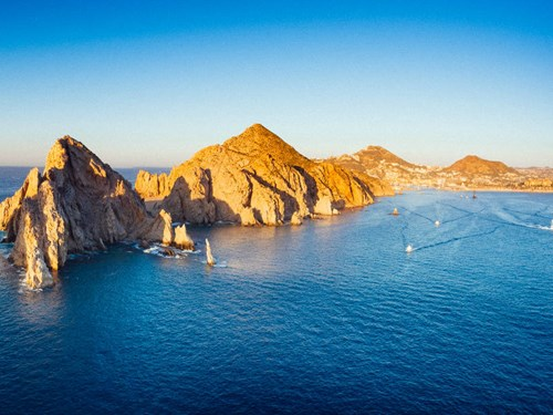 Panoramic View of Cabo San Lucas, Mexico