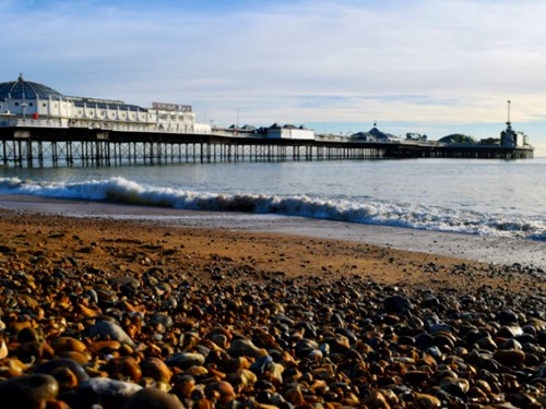 Brighton and Hove in England, UK
