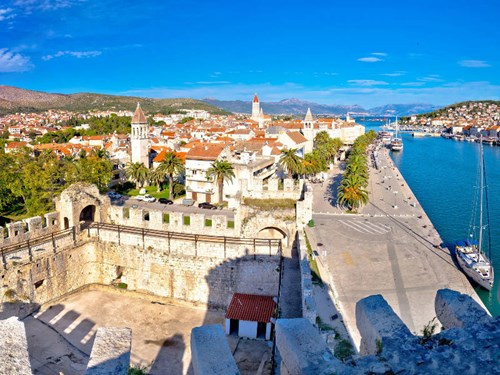 The UNESCO World Heritage Site of Trogir, Croatia